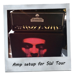 Brunetti Amp setup for SW tour